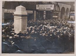 MEMORY NORTH LONDON RAILWAY FALL IN WAR BROAD STREET  20 * 15  CM Fonds Victor FORBIN (1864-1947) RAILWAY CHEMIN DE FER - Trenes
