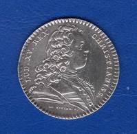 Louis Xv  Secretaire  Du  Roi  1724 Arg - Royaux / De Noblesse