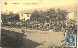 TAMINES    Tombes Des  Fusilliés - Sambreville