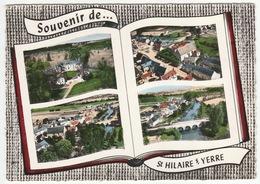 Souvenir De St-HILAIRE-sur-YERRE - Château, Bourg, Vue Générale, Pont - édit. Lapie, 101 - CPM - Non Classificati