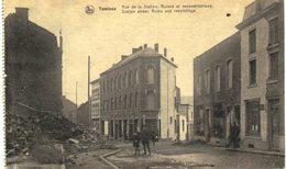 TAMINES     Rue De La Station , Ruines Et Reconstructions - Sambreville