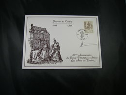 "BELG.1988 2279 FDC Philacard (Ath) : Dag Van De Postzegel /Journée Du Timbre ""avec Signature Designer Paul Huybrechts"" - FDC"