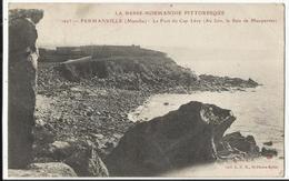 FERMANVILLE (Manche) Le Fort Du Cap Lévy (Au Loin Baie De Maupertus) 1919 - Frankreich