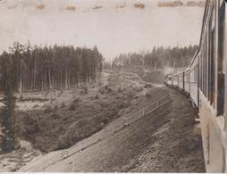 SIBERIAN RAILWAY  Eurasia And North Asia RUSSIA Rusia Asiá 21*17CM Fonds Victor FORBIN (1864-1947) RAILWAY CHEMIN DE FER - Trenes