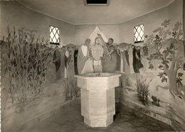 - LES CALANQUES DES ISSAMBRES (Var) - Intérieur De L'Eglise. Le Batistère - Scan Verso - - Les Issambres