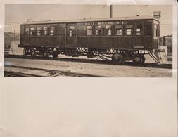 RAIL MOTOR NR 3  PETROL DRIVEN  NSW SYDNEY AUSTRALIA  21*17CM Fonds Victor FORBIN (1864-1947) RAILWAY CHEMIN DE FER - Trenes