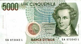5000 LIRE CINQUEMILA - Non Classificati