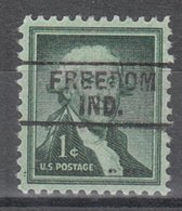 USA Precancel Vorausentwertung Preo, Locals Indiana, Freedom 745 - Etats-Unis