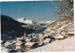 Le Grand-Bornand - Neige Et Soleil Sur La Station, Au Fond, La Tournette 2351 M. - (Haute-Savoie) - Annecy