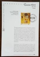 FDC Sur Document - YT N°3461 - Gustav Klimt - 2002 - 2000-2009