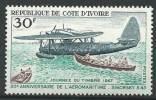 """Cote Ivoire YT 259 """" Journée Du Timbre, Aéromaritime """" 1967 Neuf** - Costa D'Avorio (1960-...)"""