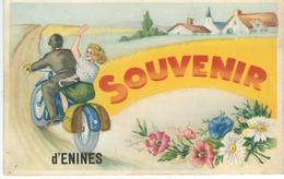 Souvenir D'ENINES ( JAUCHE ) - Cachet De La Poste 1949 - Orp-Jauche
