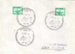 DDR Beleg Mit Sonderstempel Niemegk Observatorium Erdmagnetismus 1980 - [6] République Démocratique