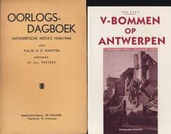 Antwerpen In 2de WO. Twee Boeken - 1939-45