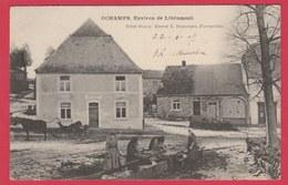 Ochamps ... Lavoir Et Lavandières - 1903 ( Voir Verso ) - Libin