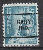 USA Precancel Vorausentwertung Preo, Locals Indiana, Gary 256 - Vorausentwertungen