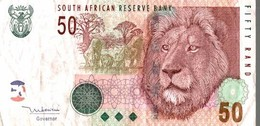 Monnaie, Billet, Afrique Du Sud, 50 Rand Lion South African Reserve Bank - Zuid-Afrika