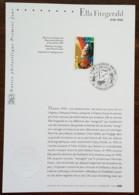 FDC Sur Document - YT N°3503 - Grands Interprètes De Jazz / Ella Fitzgerald - 2002 - 2000-2009