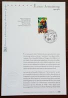 FDC Sur Document - YT N°3500 - Grands Interprètes De Jazz / Louis Armstrong - 2002 - 2000-2009