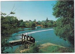 Malicorne - Le Barrage - La Sarthe - L'Eglise - (Sarthe  72) - Malicorne Sur Sarthe