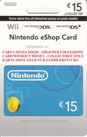 Game Card Italy Nintendo 2011_15 - Gift Cards