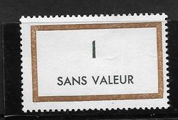 France Fictif: N° F165 ** ,fraîcheur Postale - Phantomausgaben