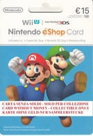 Game Card Italy Nintendo 2013 Mario & Luigi - Gift Cards