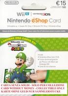 Game Card Italy Nintendo 2015 Luigi - Gift Cards