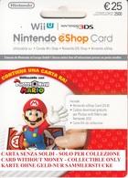 Game Card Italy Nintendo 2015 Mario - Gift Cards