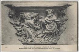 CPA - Musée Sculpture Comparée - Cathédrale D'Amiens - Miséricorde - Edition ND - Sculptures