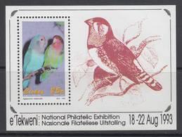 D90328 Ciskei South Africa 1993 Birds PARAKEETS M-s MNH - Afrique Du Sud Afrika RSA - Ciskei