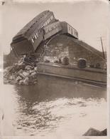 KINGSEY QUEBEC CANADÁ ACCIDENT   25*20CM Fonds Victor FORBIN 1864-1947 RAILWAY CHEMIN DE FER - Trenes