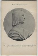CPA - Musée Sculpture Comparée - Médaillon De Marbre D'Antoine De Lannoi Capitaine De Gênes... - Edition ND - Sculptures