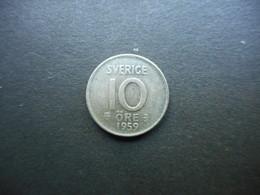 Sweden 10 Ore 1959 Gustaf VI Adolf - Sweden
