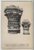 CPA - Musée TROCADERO - Cathédrale De Reims - Chapiteau ... - Edition ND - Sculptures