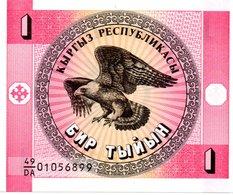 KAZAKHSTAN Billet Rose 1 Tyiyn Neuf - Aigle Rapace - Kazakhstan