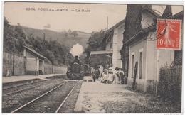 PONT SALOMON LA GARE 1911 TBE - Francia