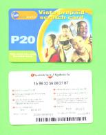 BOTSWANA - Remote Phonecard As Scan - Botswana