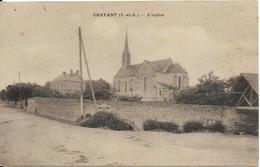 CRAVANT, L'église - France
