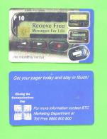BOTSWANA - Chip Phonecard As Scan - Botswana