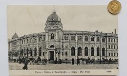 Riga, Lettland, Die Post, Deutsche Feldpost, 1918 - Lettonie