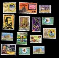 Empire Centrafricain - Oblitéré Used - Lot N° 18 De 14 Timbres - Centrafricaine (République)