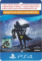 Game Card Italy PlayStation 2018 Destiny 2 I Rinnegati - Gift Cards