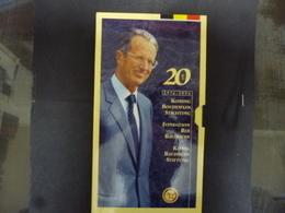 BELGIE 250 FRANK  PROOF SET  1996 BOUDEWIJN STICHTING - 1993-...: Albert II