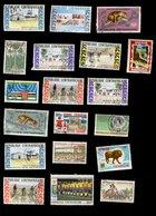 République Centrafricaine - Oblitéré Used - Lot N° 19 De 19 Timbres - Centrafricaine (République)