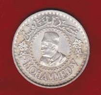 MAROCCO - 1956 - KING MOHAMMED V - 500 FRANCHI - ARGENTO - - Morocco