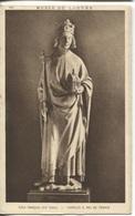 CPA - Musée LOUVRE - CHARLES V Roi De France - Edition Braun Cie - Sculptures
