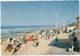 Luc-sur-Mer - La Plage Et La Promenade - (Calvados) - 1963 - Luc Sur Mer
