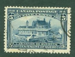 Canada: 1908   Quebec Tercentenary    SG191    5c      Used - 1903-1908 Regno Di Edward VII