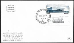 1974 - ISRAEL - FDC + Michel 614 [Tel Aviv University] + JERUSALEM - FDC